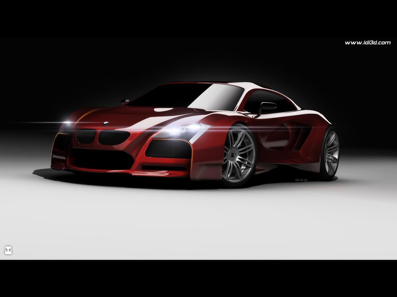 New BMW M Supercar Concept: A Main Competitor For An Audi