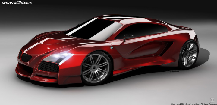 Bmw M Supercar Concept Rednderings Img 3 It S Your Auto