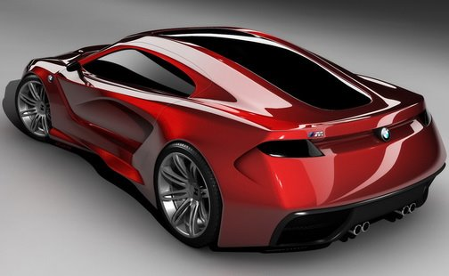BMW M Supercar Concept rednderings img_4