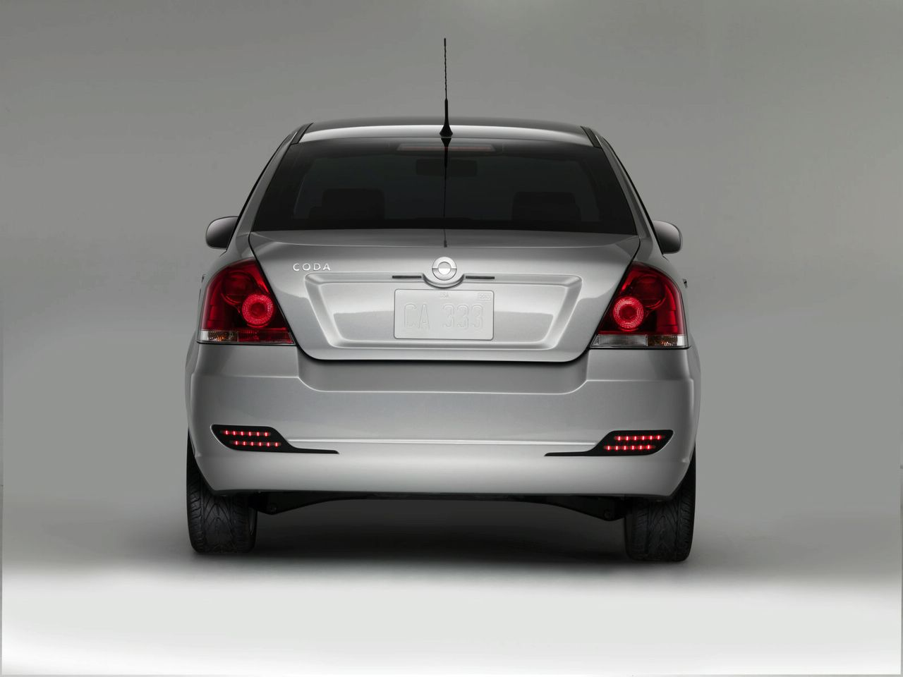 2010 Coda EV Rear View