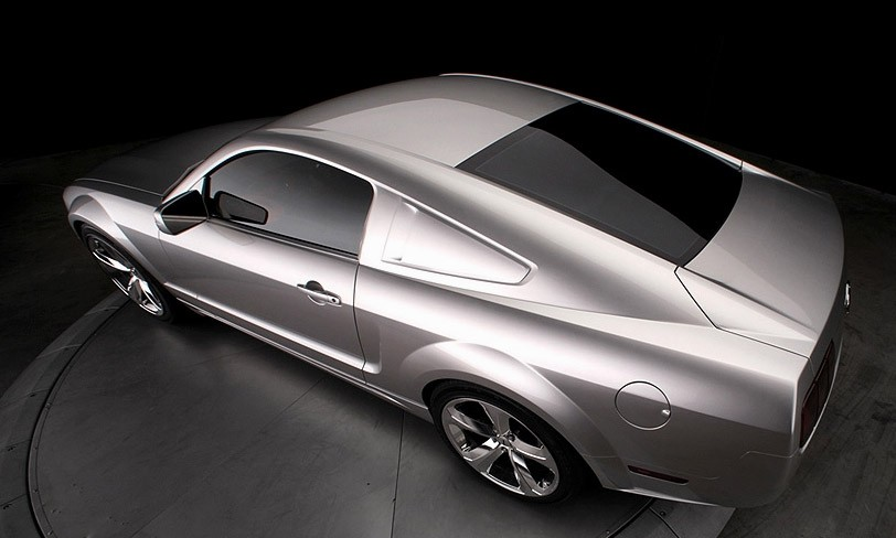 ford mustang silver 45th anniversary edition introducedlee