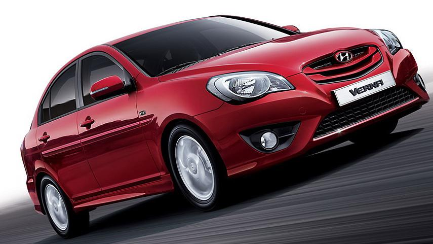 New Hyundai Verna Accent Revealed In Korea Details And Photos 2009 Transform Img 1