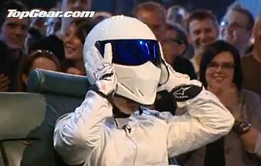 Top Gear The Stig reveals on video