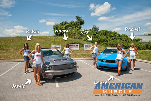 Annual AmericanMuscle Car Show And Charity Event Ammustanggirls - Car show giveaways