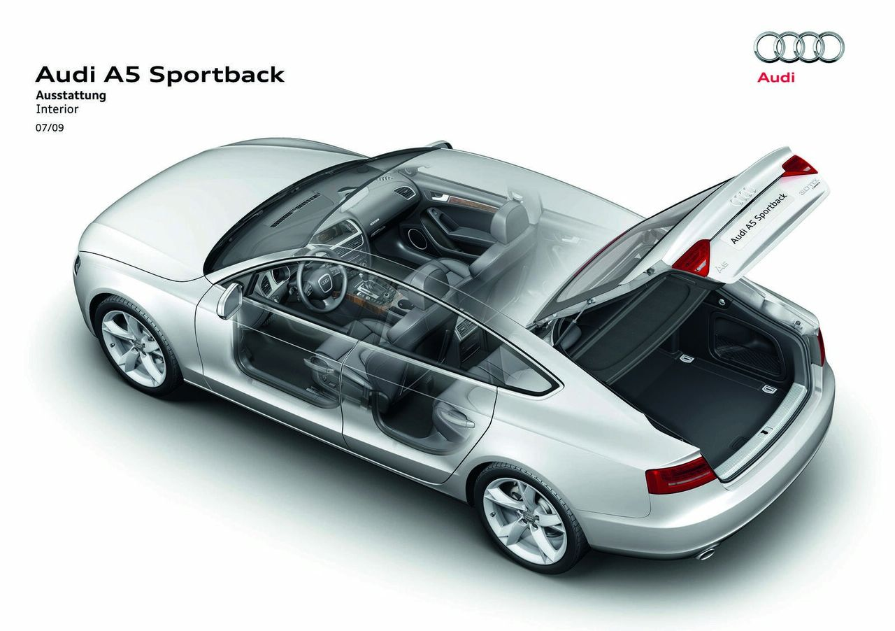 Audi A5 Sportback official systems img_25 | It's your auto ...