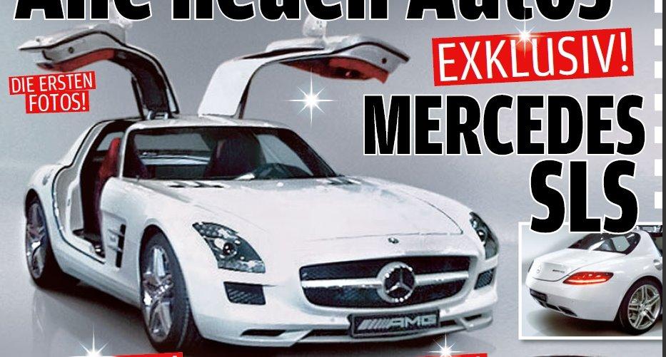 mercedes sls cars