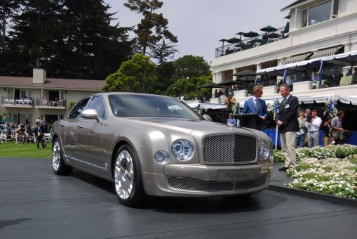 2010 Bentley Mulsanne LIVE at Pebble Beach Concours d'Elegance img_1 | AutoWorld