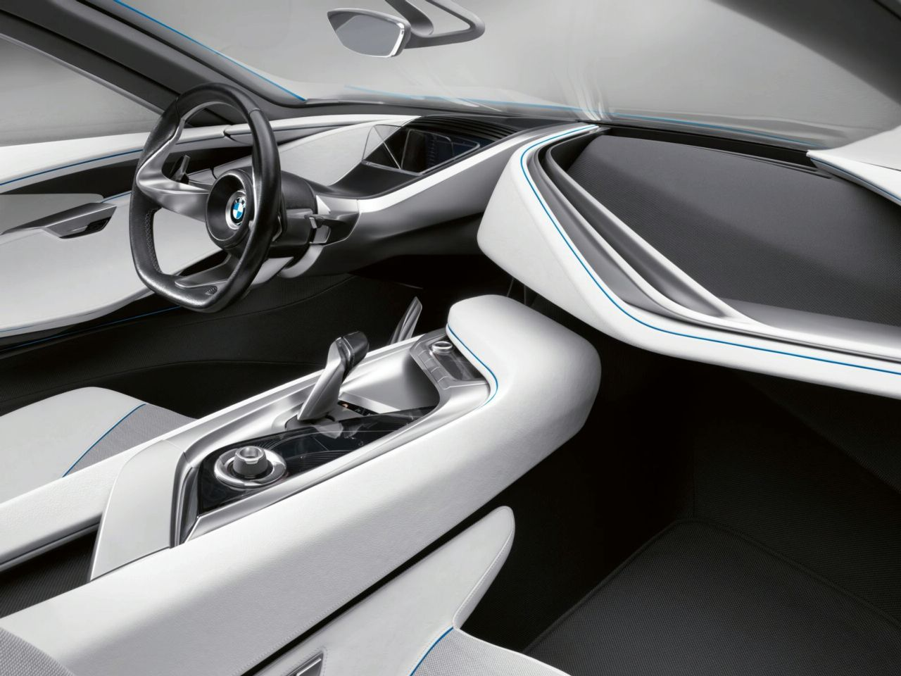 bmw vision efficienctdynamics concept interior img 19 it s your auto world new cars auto. Black Bedroom Furniture Sets. Home Design Ideas