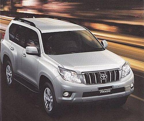 Toyota Land Cruiser Prado 2010 Interior. 2010 Land Cruiser Prado leaked