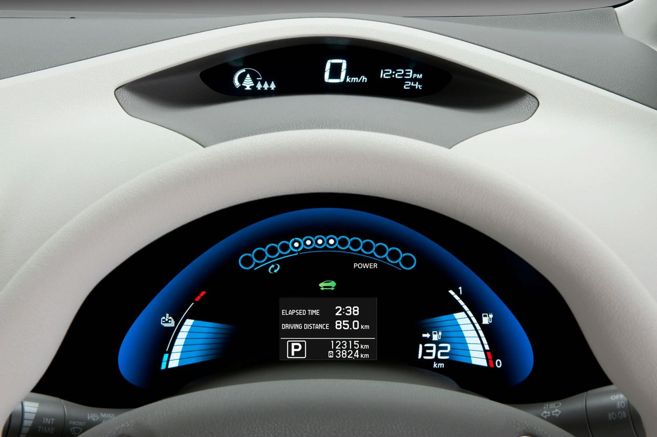 Nissan Vehicle Nissan Leaf Electric Vehicle
