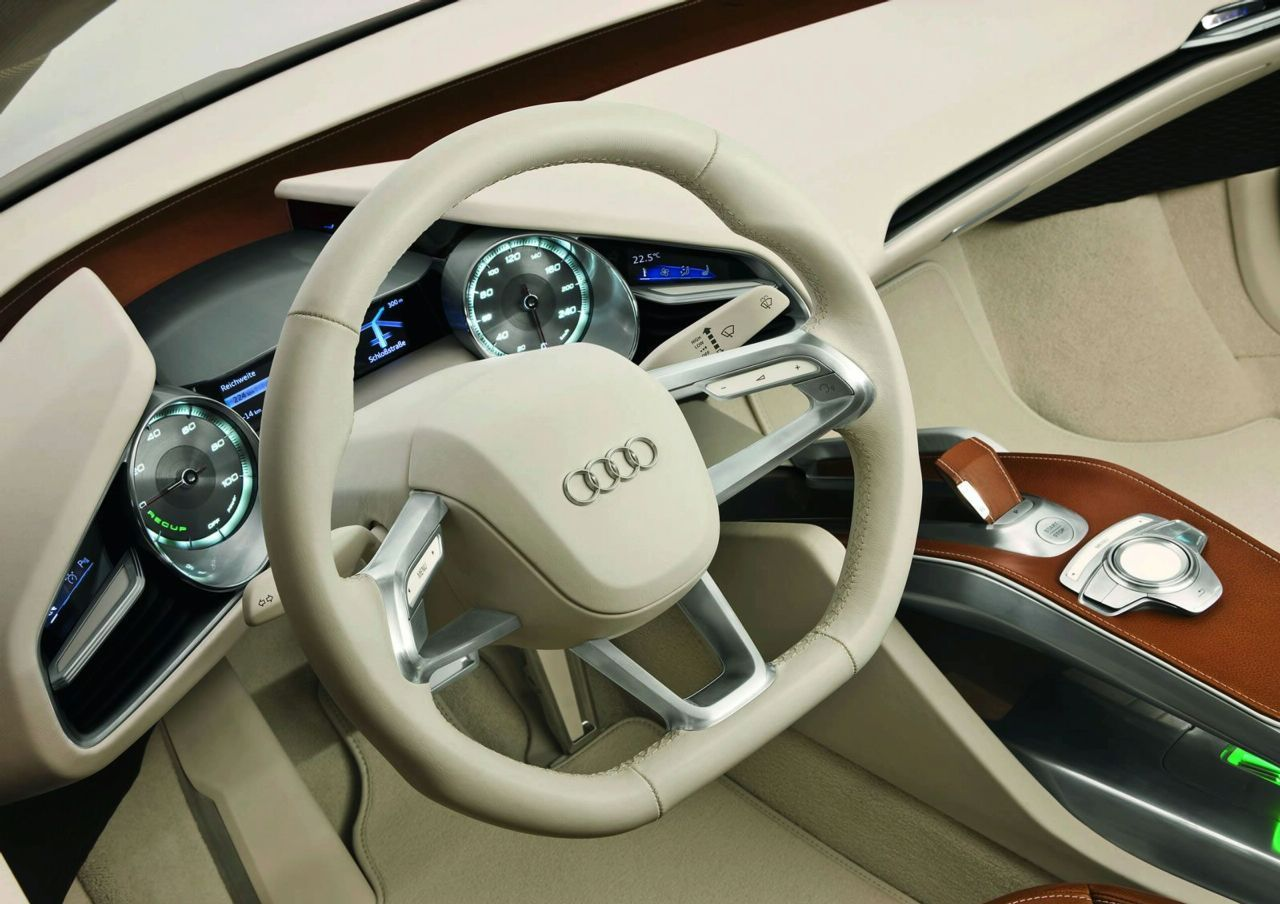 audi e tron concept interior img 9 it s your auto world. Black Bedroom Furniture Sets. Home Design Ideas