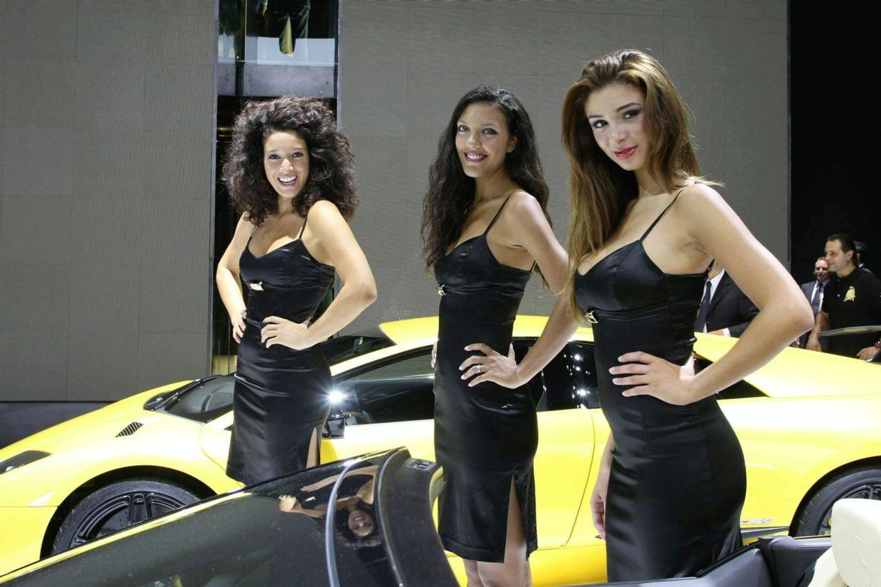 Beauty Girls at the 2009 Frankfurt Auto Show (photos) | It ...