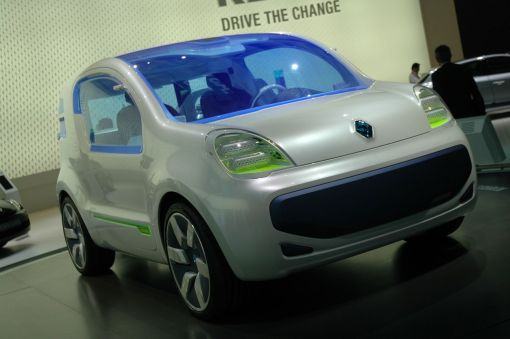 Renaut Kangoo Z.E. Concept LIVE at 2009 Frankfurt Motor Show img_1