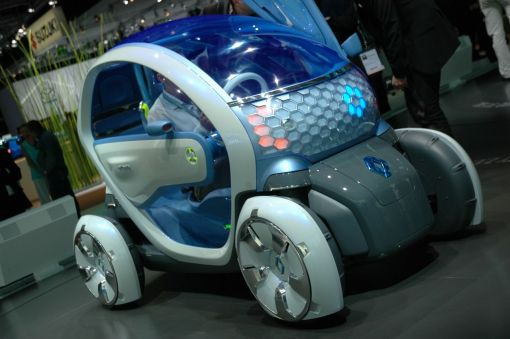 Renaut Twizy Z.E. Concept LIVE at 2009 Frankfurt Motor Show img_3