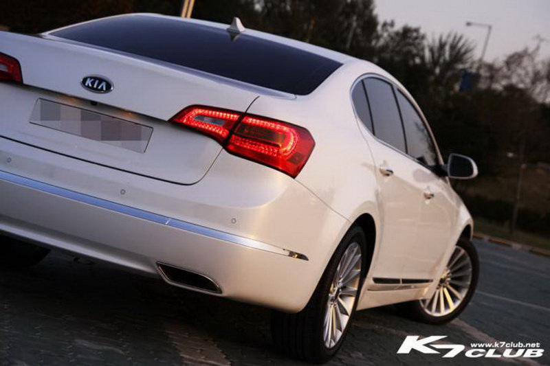 New Kia Cadenza Vg Sedan Officially Revealed Details And