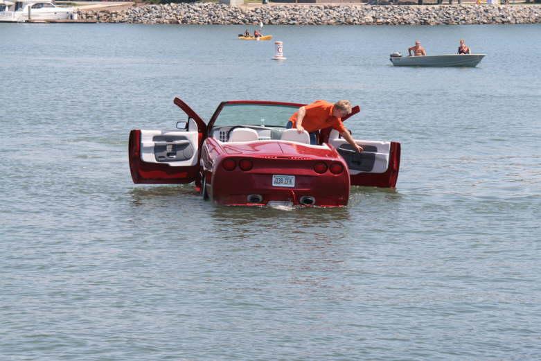 возил лодку на машине