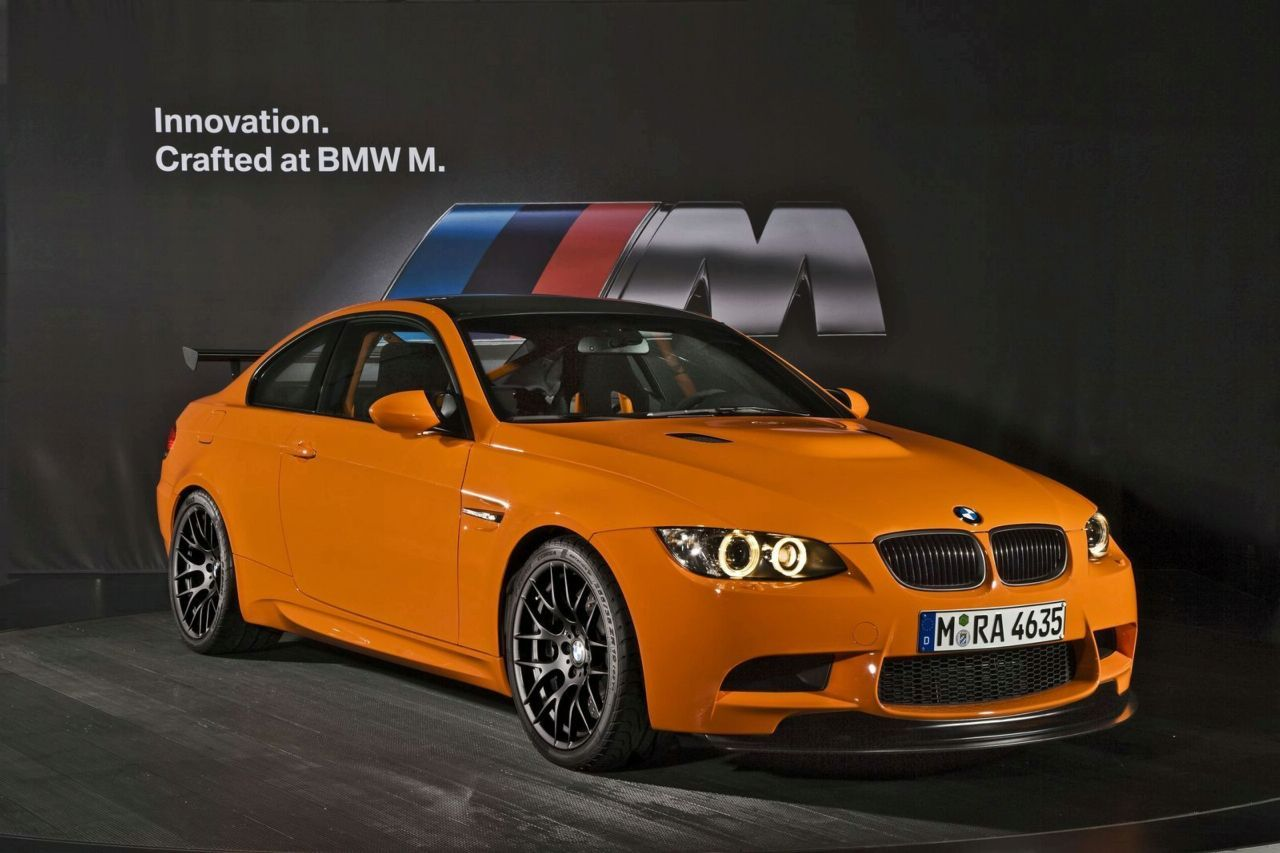 The new M3 GTS is distinguished by several exclusive features borrowed from