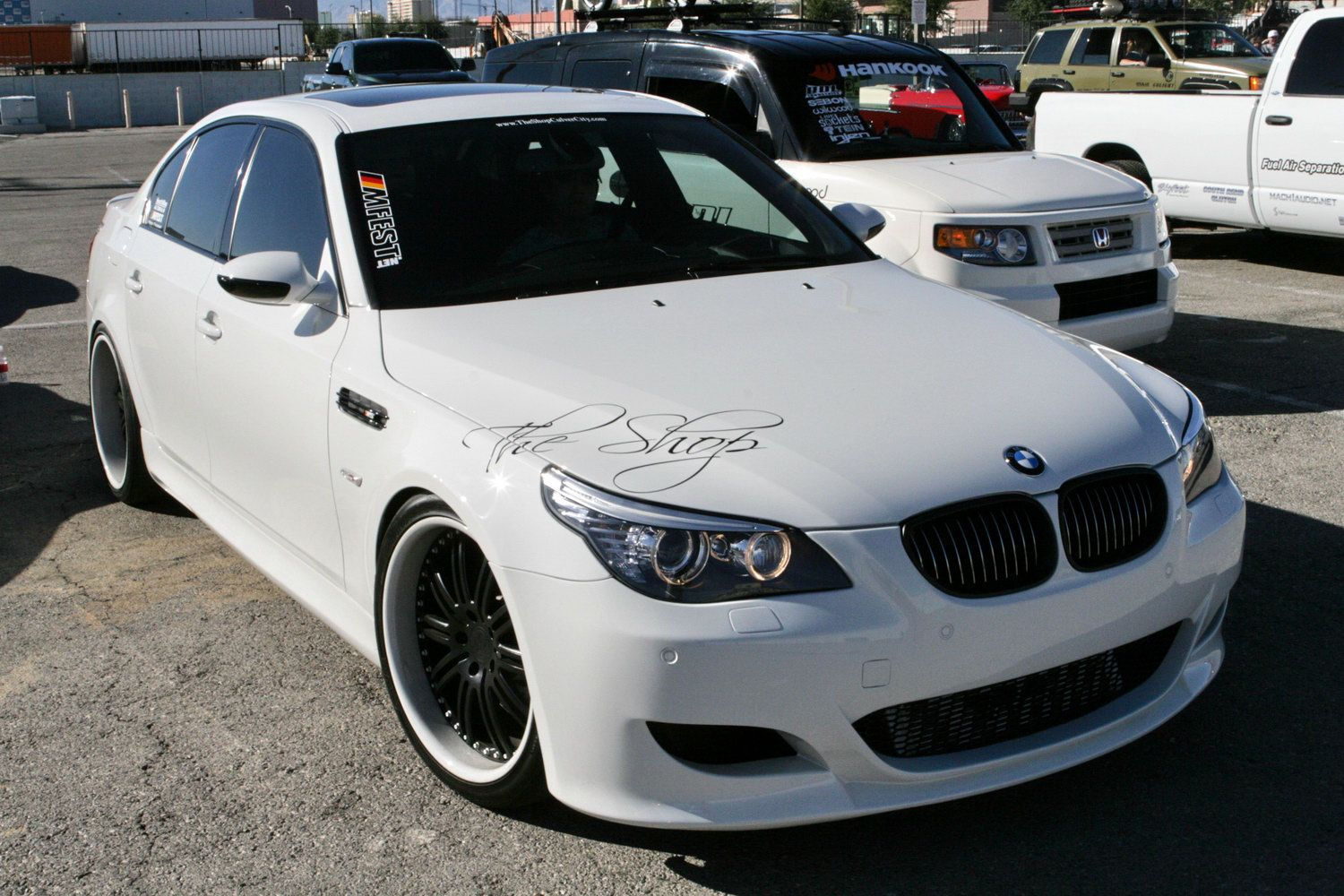 bmw tuning at 2009 sema show img 4 it s your auto world new cars auto news reviews. Black Bedroom Furniture Sets. Home Design Ideas