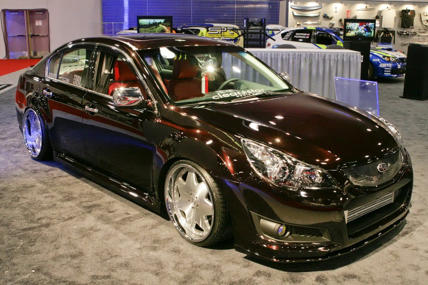 Luxury subaru legacy vip concept revealed at 2009 sema show luxury subaru legacy vip concept revealed at 2009 sema show photos its your auto world new cars auto news reviews photos videos vanachro Image collections