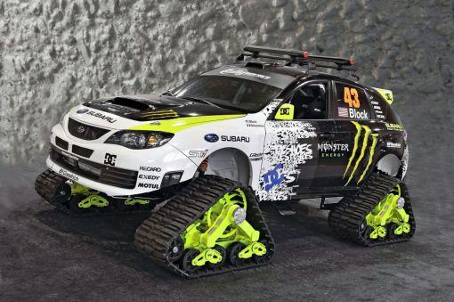 Subaru WRX STI TRAX concept img_1 | AutoWorld