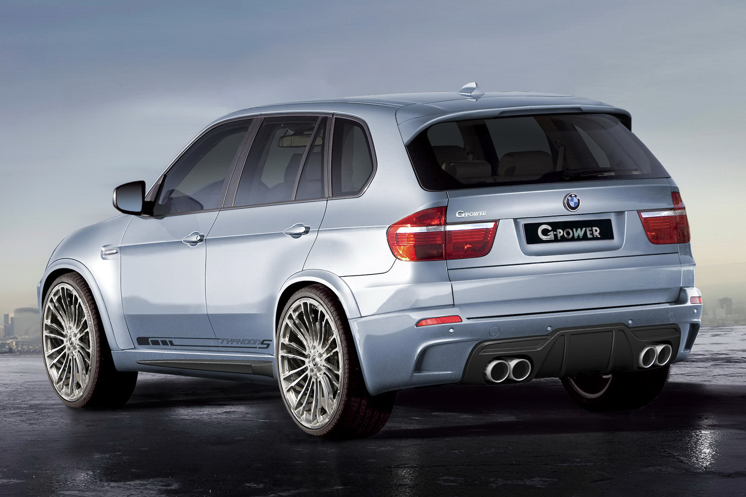 Tuning G Power Modifed The New Bmw X5m And X6m Photos