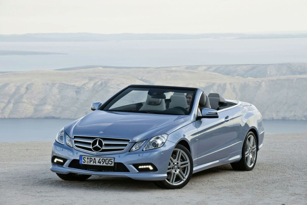 New 2010 Mercedes E-Class Convertible Officially Revealed (photos and ...