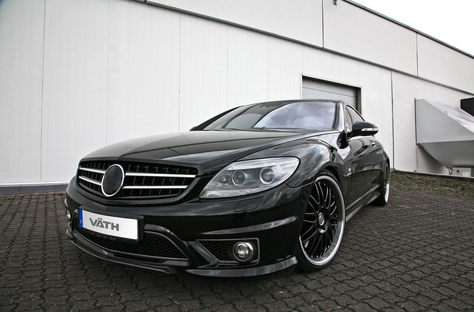 tuning v th performance mercedes cl 65 amg with 745hp and. Black Bedroom Furniture Sets. Home Design Ideas