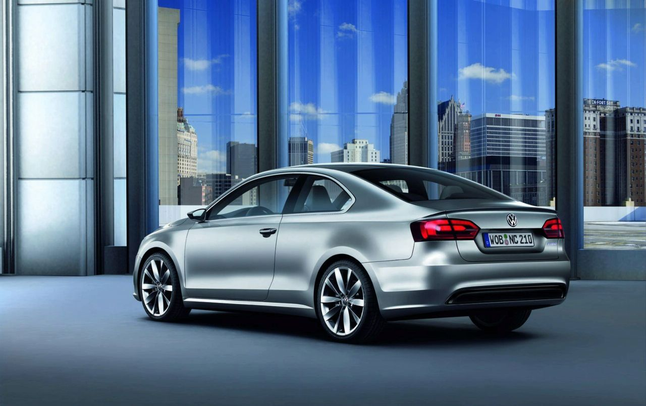 Volkswagen New Compact Coupe Concept Revealed (details and photos) | It's your auto world :: New ...