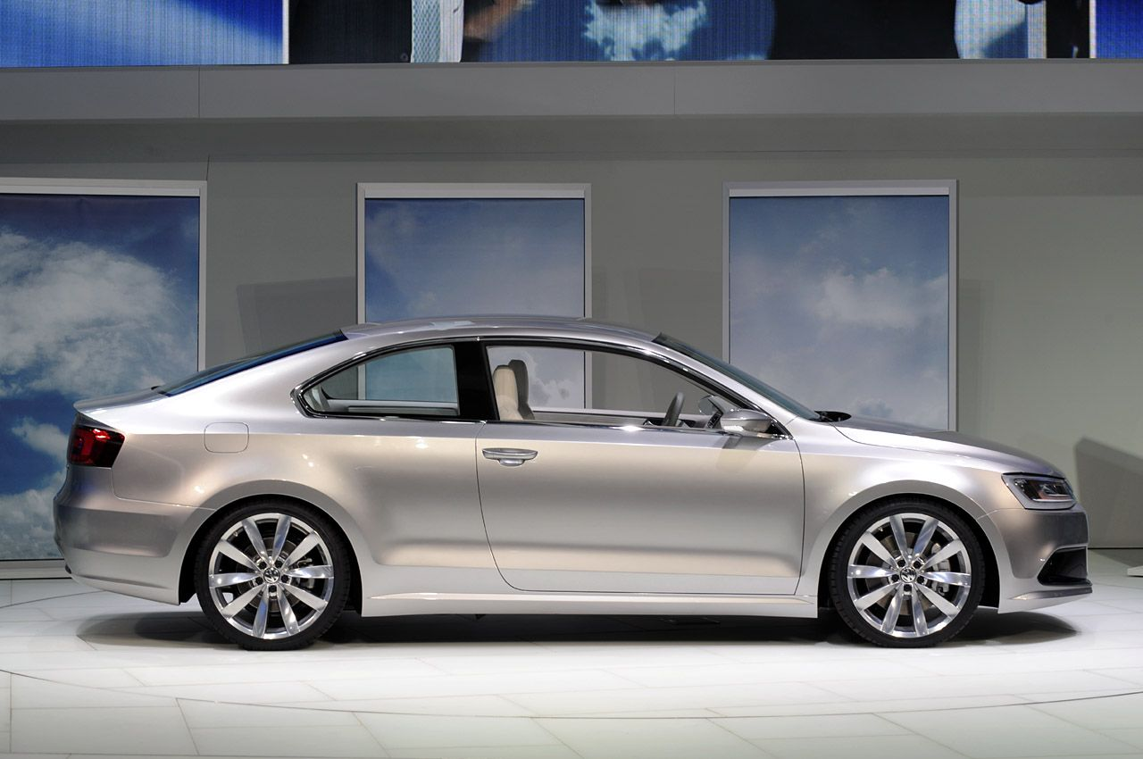 Volkswagen New Compact Coupe Concept Revealed (details and photos ...