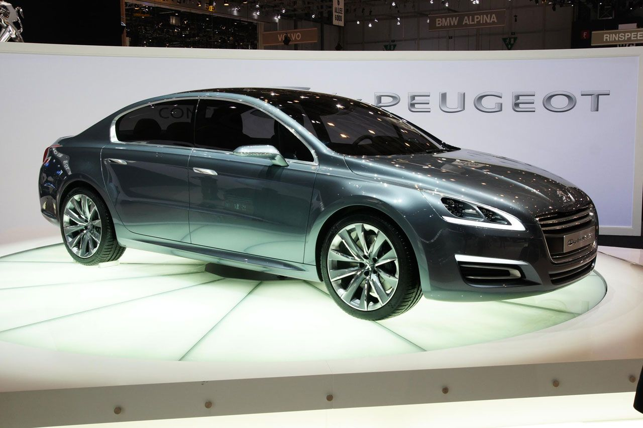 By Peugeot And SR Concept Revealed At Geneva Motor Show - New cars 2010