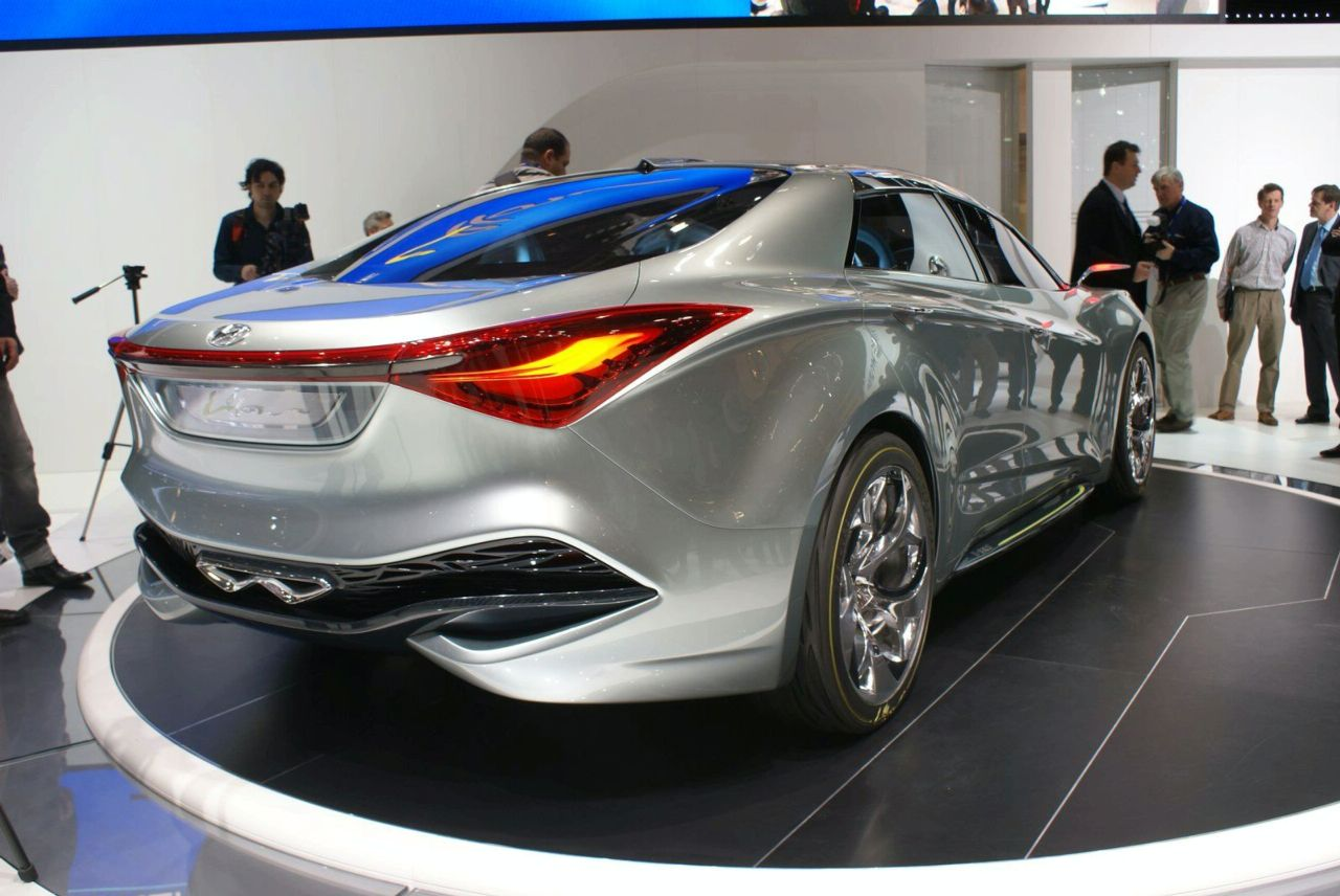Hyundai IFlow Concept At Geneva Img Its Your Auto World - New cars 2010