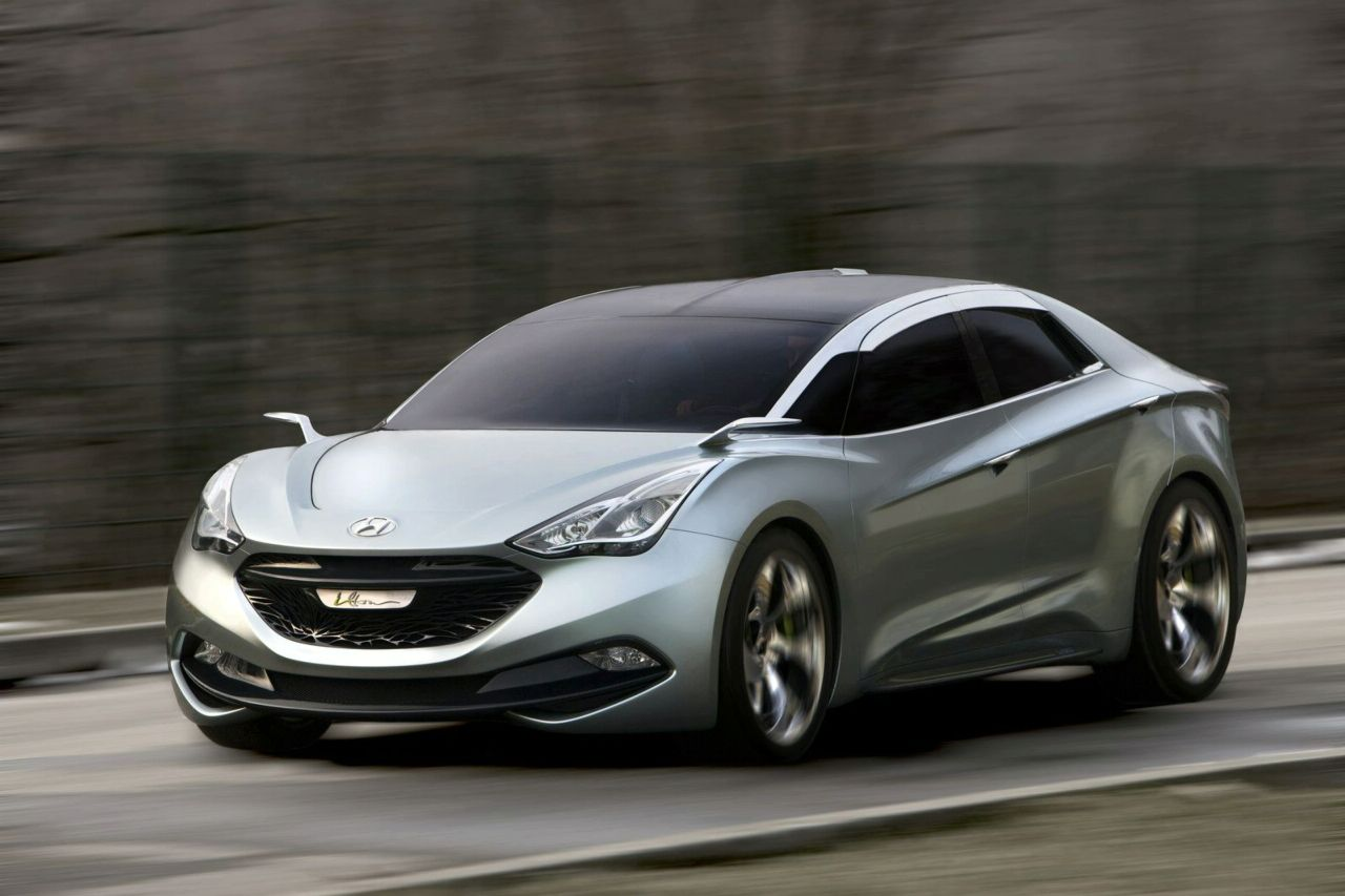 new hyundai i flow hed 7 hybrid concept revealed in geneva photos and video it s your auto. Black Bedroom Furniture Sets. Home Design Ideas