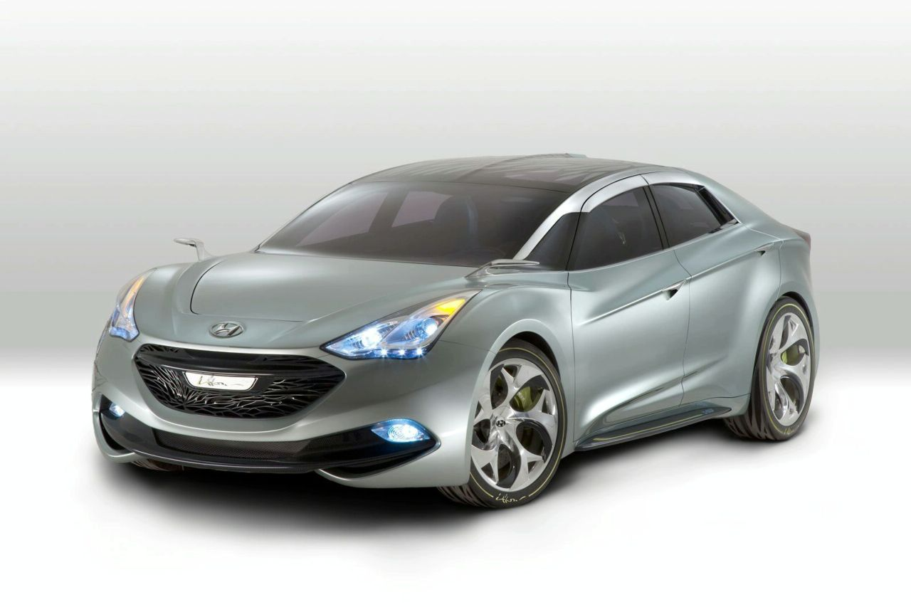 Lithium Ion Car Battery >> New Hyundai i-flow HED-7 Hybrid Concept Revealed in Geneva ...