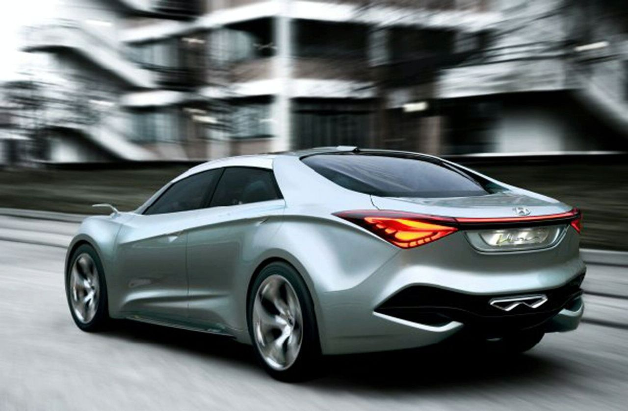 New Hyundai I Flow Hed 7 Hybrid Concept Revealed In Geneva Photos And Video 2 on 2011 hyundai sonata engine