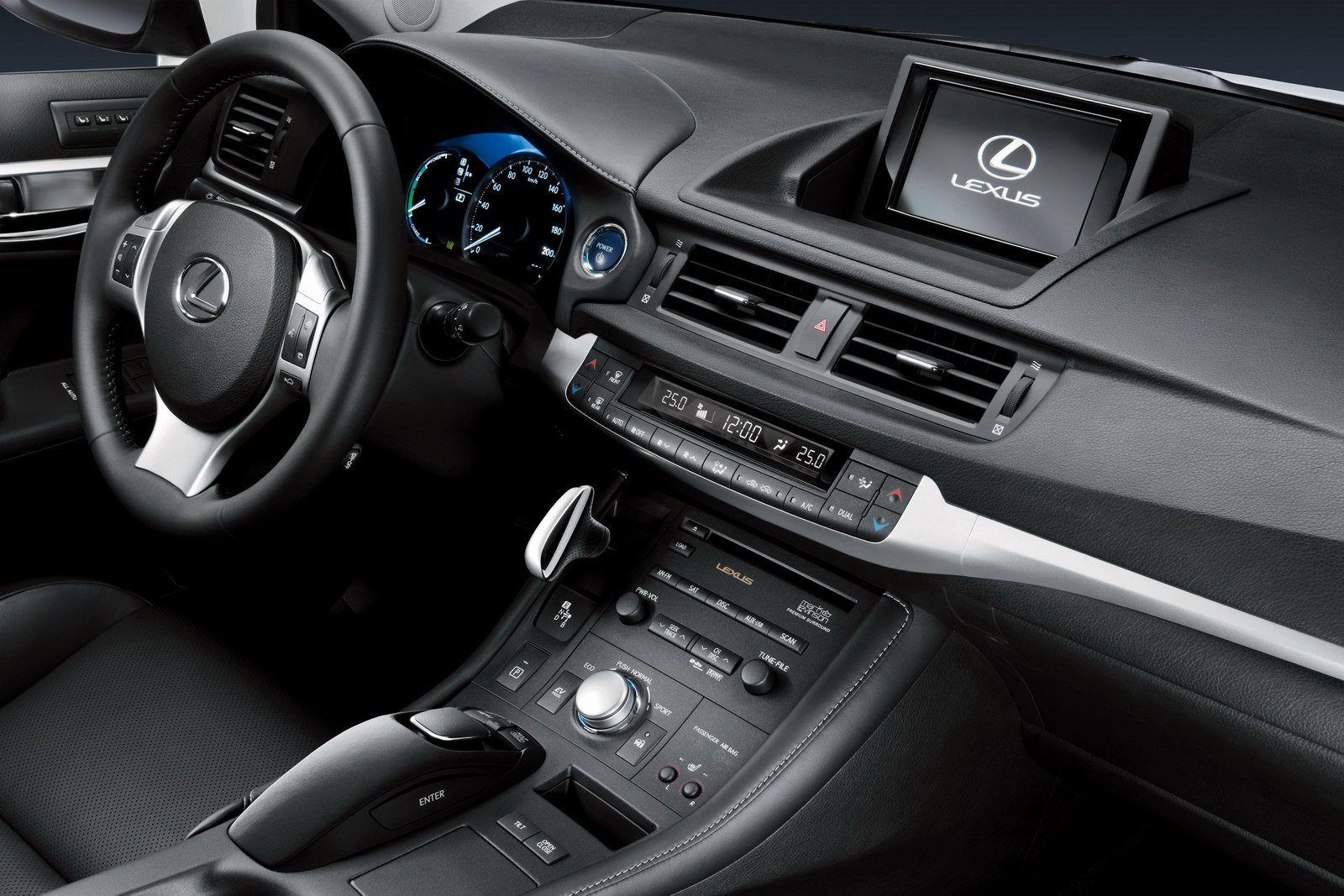 New lexus ct 200h official details and photos leaked lexus ct 200h 2011 img_7
