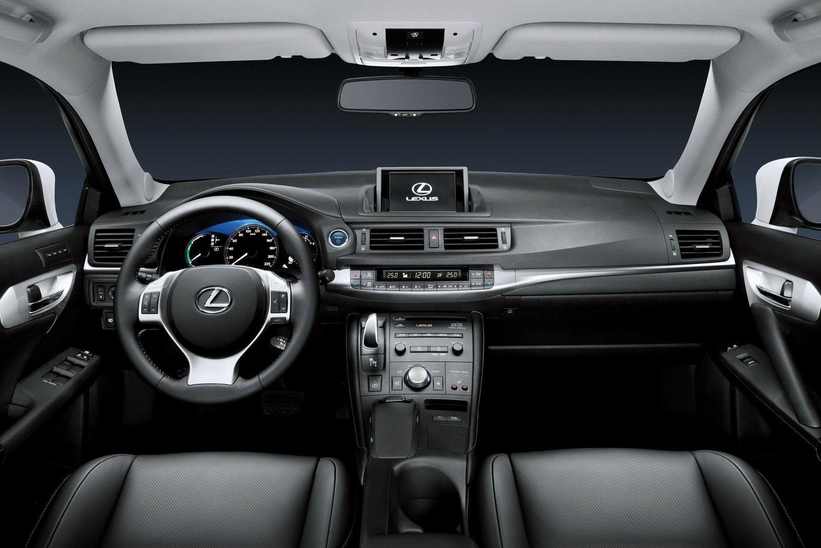 New lexus ct 200h official details and photos leaked lexus ct 200h 2011 img_8