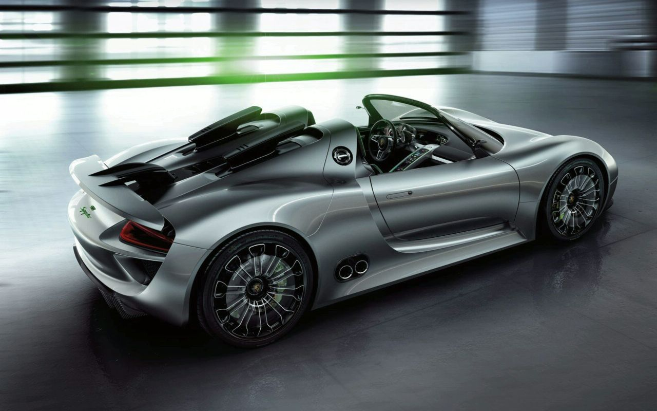 new porsche 918 spyder sports plug in hybrid concept. Black Bedroom Furniture Sets. Home Design Ideas