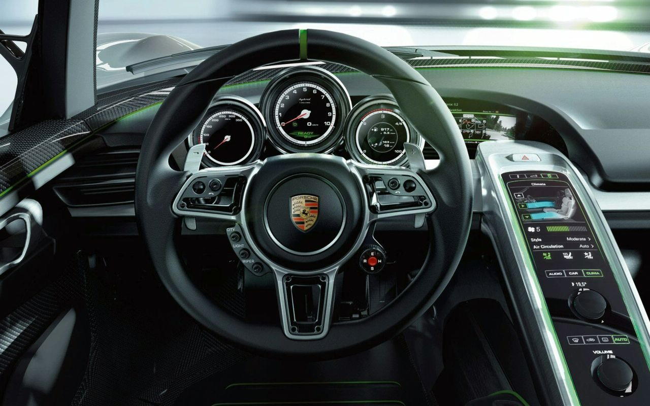 porsche 918 spyder hybrid concept img 17 it s your auto world new cars. Black Bedroom Furniture Sets. Home Design Ideas